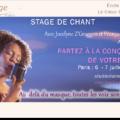 Partez à la conquête de votre voix | Stage de chant | Paris | Juillet 2019