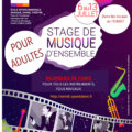 Stage de musique d'ensemble pour adultes à Forcalquier (04) du 6 au 13 juillet