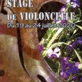 Stage de violoncelle en Dordogne du 19 au 24 juillet 2020