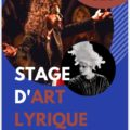 Grand Stage d'art Lyrique – Eté 2020 – Bretagne
