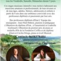 Stages musicaux  de 3 jours Juillet-août de piano en Charente
