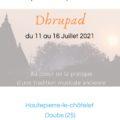 Stage de musique indienne «Dhrupad» – DOUBS – Juillet 2021