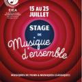 Stage de musique d'ensemble à Forcalquier ( 04 ) pour enfants ados adultes du 15 au 25 juillet 2021